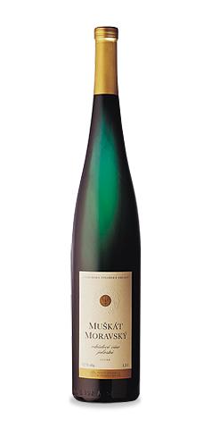 Muškát moravský - jakostní víno