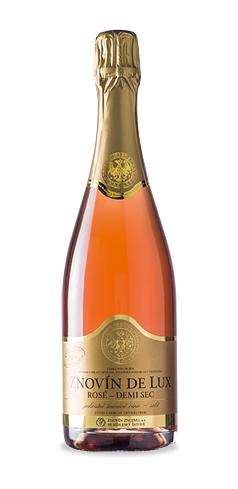 Znovín de Lux Rosé Demi sec - jakostní šumivé víno - 2013