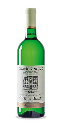 Chenin blanc - moravské zemské víno - 2012