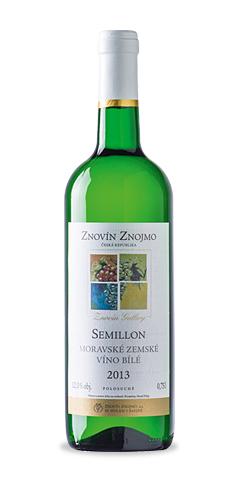 Semillon - moravské zemské víno - 2013