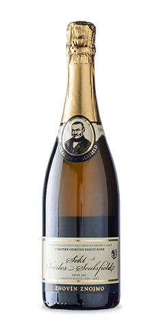 CHARLES SEALSFIELD SEKT Demi sec - jakostní šumivé víno - 2013