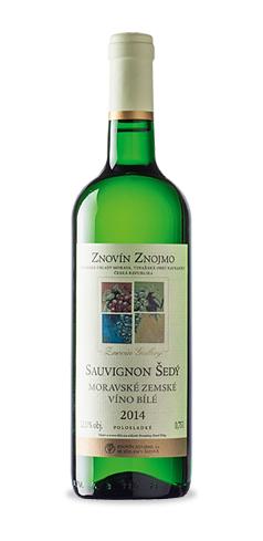 Sauvignon šedý - moravské zemské víno - 2014