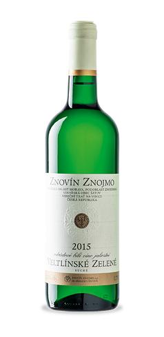 Veltlínské zelené - jakostní víno - 2015
