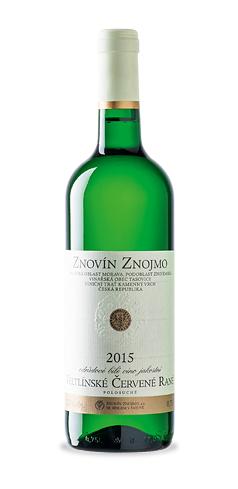Veltlínské červené rané - jakostní víno - 2015