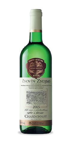 Chardonnay - výběr z hroznů - 2015