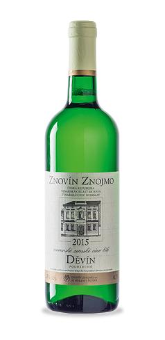 Děvín - moravské zemské víno - 2015