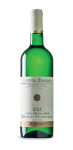 Muškát moravský - jakostní víno - 2015