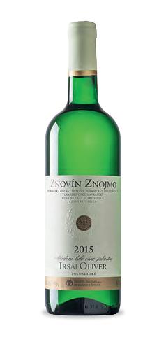Irsai Oliver - jakostní víno - 2015