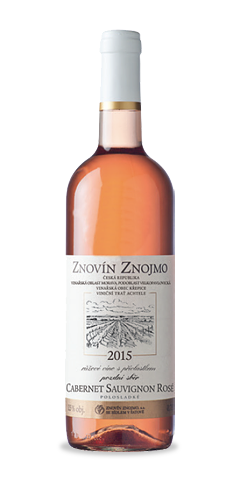 Cabernet Sauvignon rosé - pozdní sběr - 2015