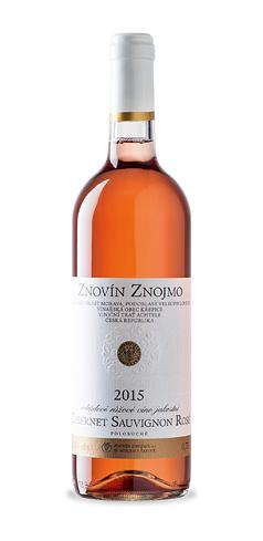 Cabernet Sauvignon rosé - jakostní víno - 2015