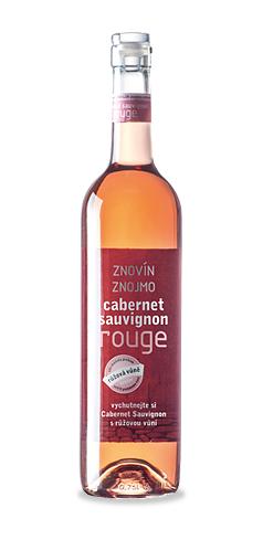 Cabernet Sauvignon rosé - výběr z hroznů - 2015