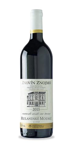 Rulandské modré - moravské zemské víno - 2015