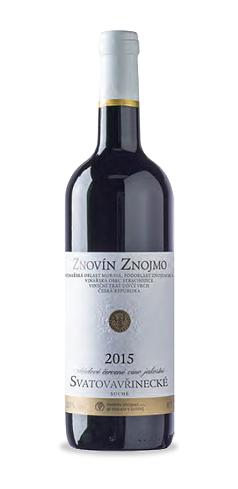 Svatovavřinecké - jakostní víno - 2015