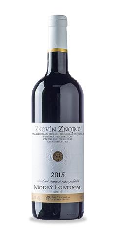 Modrý Portugal - jakostní víno - 2015
