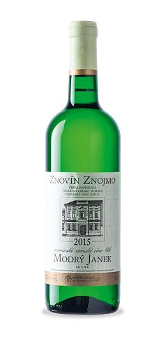 Modrý Janek - moravské zemské víno - 2015
