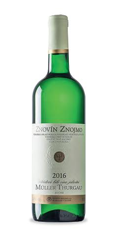 Müller Thurgau - jakostní víno - 2016