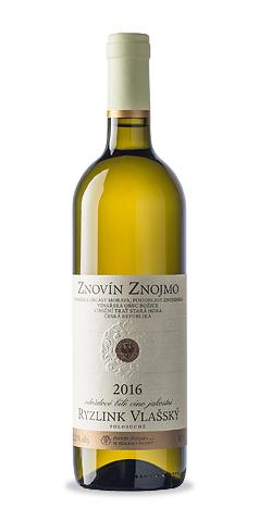 Ryzlink vlašský - jakostní víno - 2016
