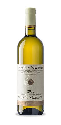 Muškát moravský - jakostní víno - 2016