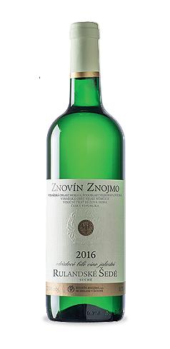 Rulandské šedé - jakostní víno - 2016