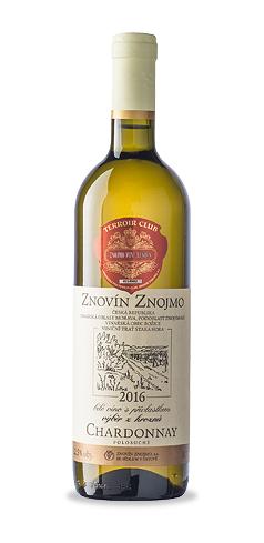 Chardonnay - výběr z hroznů - 2016