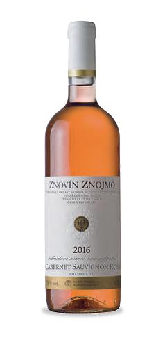 Cabernet Sauvignon rosé - jakostní víno - 2016