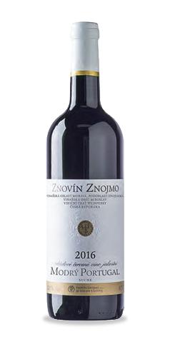 Modrý Portugal - jakostní víno - 2016
