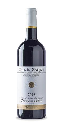 Zweigeltrebe - jakostní víno - 2016