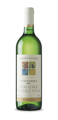 Cuvée barrique - moravské zemské víno - 2007