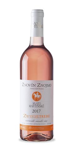 SVATOMARTINSKÉ - Zweigeltrebe rosé - moravské zemské víno - 2017