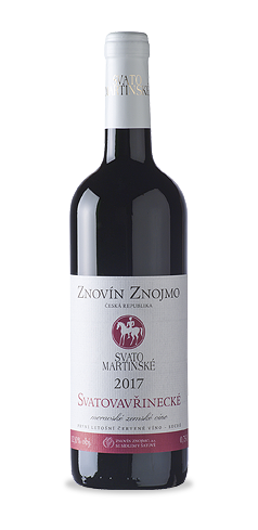 SVATOMARTINSKÉ - Svatovavřinecké - moravské zemské víno - 2017