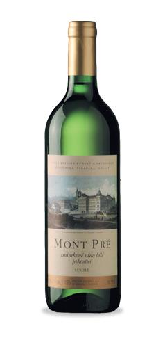 Mont Pré - známkové víno jakostní - 2015