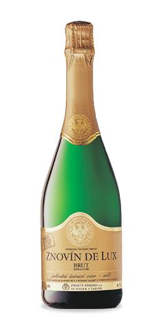 Znovín de Lux Brut - jakostní šumivé víno - 2015