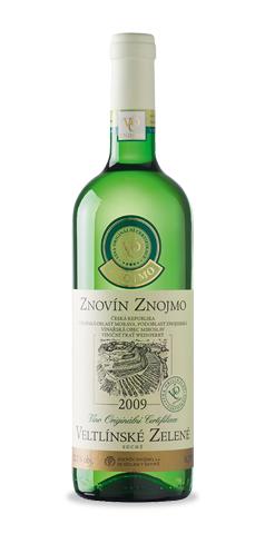 Veltlínské zelené - moravské zemské víno - 2009