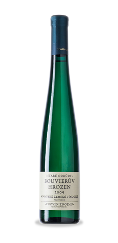 Bouvierův hrozen - moravské zemské víno - 2009