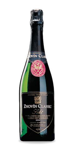 Znovín Classic Sekt Demi sec - jakostní šumivé víno - 2015